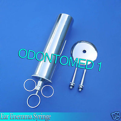 3 Ear Enemma Syringe 6 oz Surgical Veterinary instruments