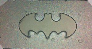 Image Is Loading Small Flexible Plastic Resin Mold Bat Logo 2