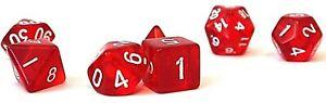 RPG-Wuerfel-Set-7-teilig-DND-Poly-Rollenspiel-Rot-W4-W20-dice4friends-Tabletop