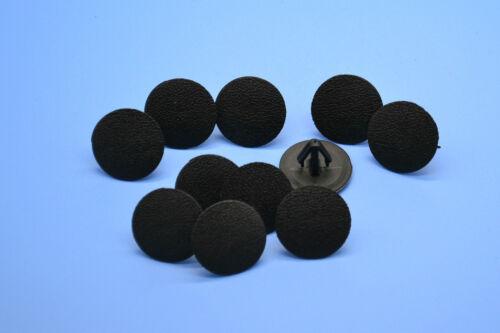 SKODA FABIA BLACK HOLE PLUGS BLANKING GROMMET TRIM SNAP CLIPS