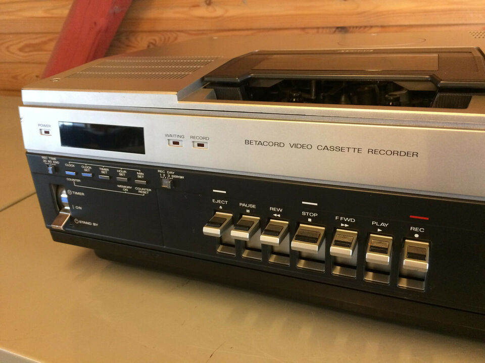 Tensai TVR 810 – Betamax-afspiller – skal servi...