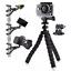 For GoPro HERO6 Black Action Cam Camera Flexible Tripod Gorilla Mount Stand BLK