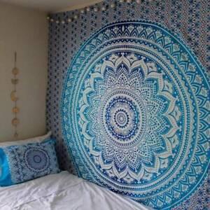 Indian-Twin-Hippie-Mandala-Tapestry-Wall-Hanging-Throw-Bohemian-Bedspread
