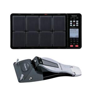 roland octapad spd 30 bk spd 30 black and fd 8 hi hat control pedal bundle new ebay. Black Bedroom Furniture Sets. Home Design Ideas
