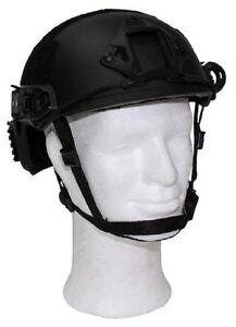 Us Mich Tc2001 Army Helmet Helm Fast With Rails Black Modische Und Attraktive Pakete Funsport