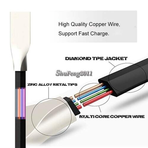 """BLACK TYPE C USB Data Sync Charger Alloy Cable FOR Samsung Galaxy Tab S3 9.7/"""""""