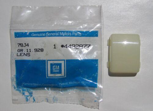 OEM 4636294 4482877 1954-1972 GM ConvertiblesRear Courtesy Lens NOS in Bag