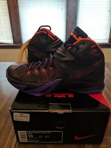 7cd773e640f8 Nike Zoom Soldier VIII Lebron James PRM Size 10 Men s basketball ...