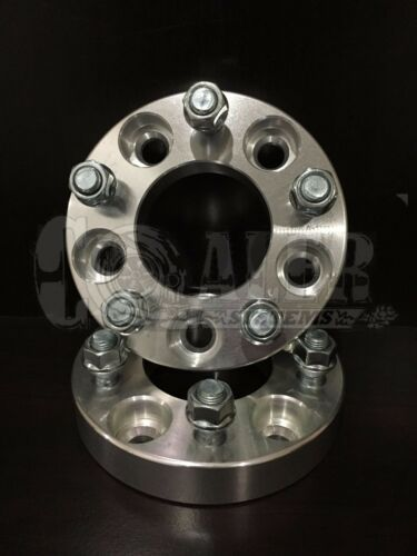 """5X114.3 Bolt Fits Lincoln Mark VII Set of 2 Wheel Spacers 1.25/"""" Aluminum 5x4.5"""
