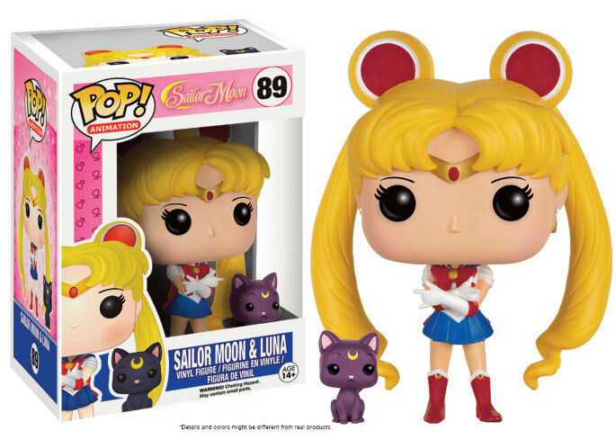 FIGURA SAILOR MOON & LUNA Y 9 CM PRETTY GUARDIÁN POP FUNKO VINYL ANIME MANGA  1