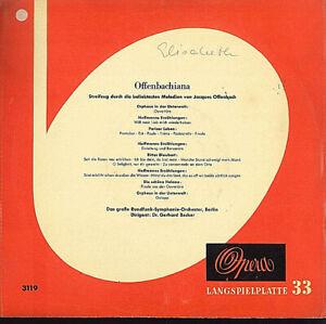 Jacques Offenbach ~ Offenbachiana (Streifzug Durch Die Beliebtesten Melodien )