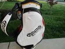 TAYLOR MADE STAFF LEATHER GOLF BAG-SELECT FIT