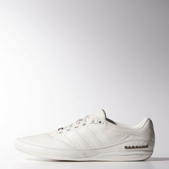 new arrival 552f7 28942 New Adidas Porsche Typ 64 2.0 Leather Sneakers white shoes