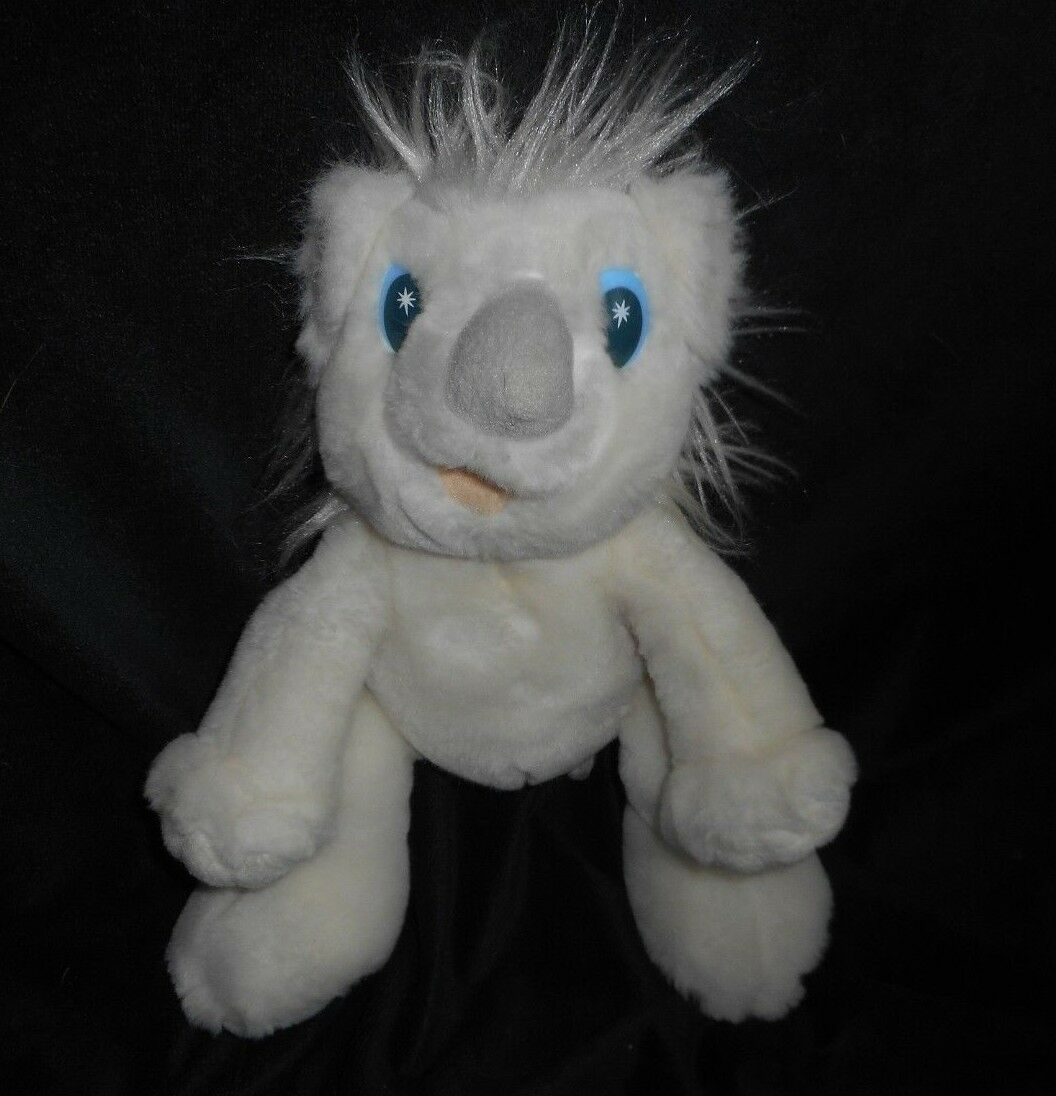 VINTAGE 1997 BARNEY & FRIENDS TWINKEN WHITE KOALA KOALA KOALA BEAR STUFFED ANIMAL PLUSH TOY b815df
