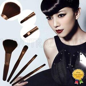 Nuevo-De-Lujo-4Pcs-Pro-Maquillaje-Pinceles-Set-Fundacion-Colorete-Maquillaje-Cepillo-de-cejas