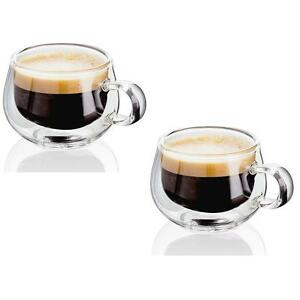 Judge Hand Crafted Double Walled Set Of 2 75ml Glass Espresso Coffee Cup  689788499468 | EBay