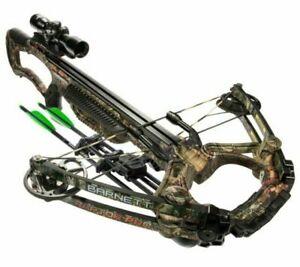 New Barnett Raptor PRO STR Crossbow Package 78005 400fps!