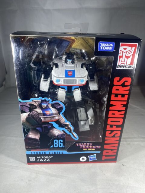 Hasbro Takara Tomy Transformers The Movie Studio Series 86 Deluxe Autobot Jazz