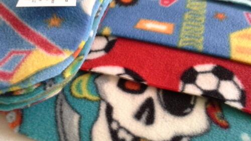 Washable Fleece Nappy Liners Boy Prints Fleece nappy liners Pack 10
