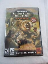 Remington Super Slam Hunting: Africa [XP/Vista/7] PC Game Hunting Shooting NEW