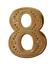 縮圖 1 - Number 8 Gilded Orange Order Collarette Character