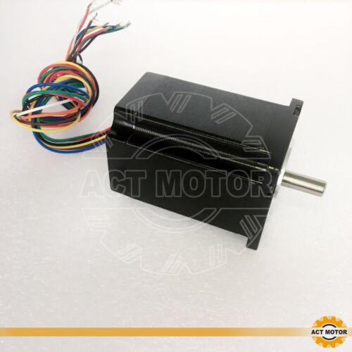 ACT MOTOR GmbH 4PCS Nema23 Stepper Motor 23HS8840D8P1-C 4A 2.2Nm φ 8mm D-Shaft