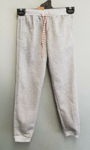 BNWT Boys Sz 6 Grey Marle Rivers Brand Fleece Lined Track Pants
