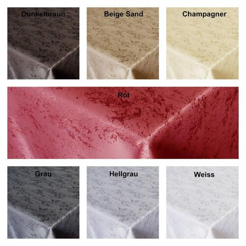 Jacquard Nappe granit chiné forme taille couleur au choix Lotus Effet Marbre