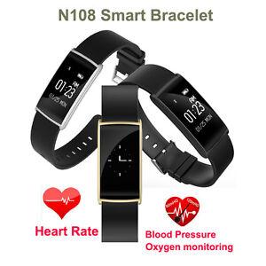 N108-Bluetooth-Smart-Watch-Waterproof-Blood-Pressure-Heart-Rate-Sports-Wristband