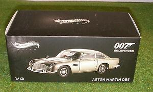 Hot Wheels Elite au 1:43 sur l'échelle Aston Martin Db5 007 de James Bond de Goldfinger