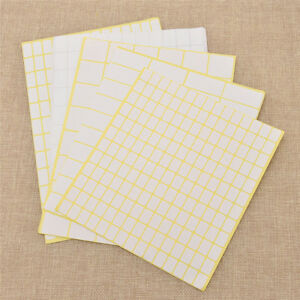 15-Sheets-pack-Blank-White-Sticker-Label-Name-Stickers-Blank-Paper-Note-Decals
