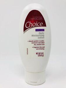 Choice-DM-Skin-Care-Daily-Moisturizing-Lotion-Fragrance-Free-Diabetic-8oz