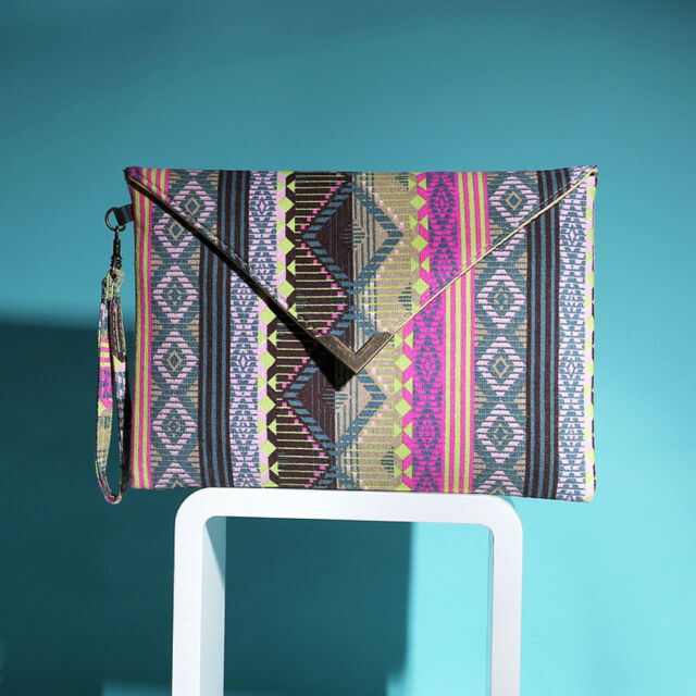 Fashion Women's Envelope Clutch Canvas Handbag Purse Tote Ladies Shoulder Bag