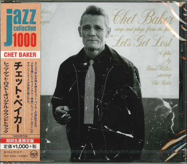 CHET BAKER-LET'S GET LOST - ORIGINAL SOUNDTRACK-JAPAN CD Ltd/Ed B63
