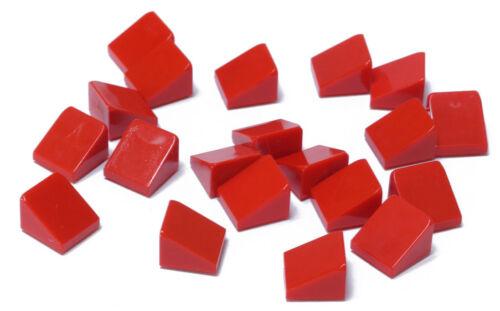30 Grad // Red Slope 30 // 54200 NEUWARE Dachstein rot 1x1x2//3 LEGO 20 x Mini