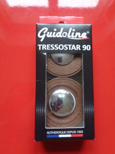 GUIDOLINE TISSU TRESSOSTAR 90 MARRON Tape Fabric TRESSOSTAR 90 Brown