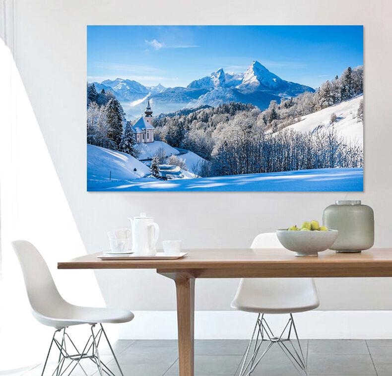 3D Schnee 2543 Fototapeten Wandbild Fototapete BildTapete Familie AJSTORE DE