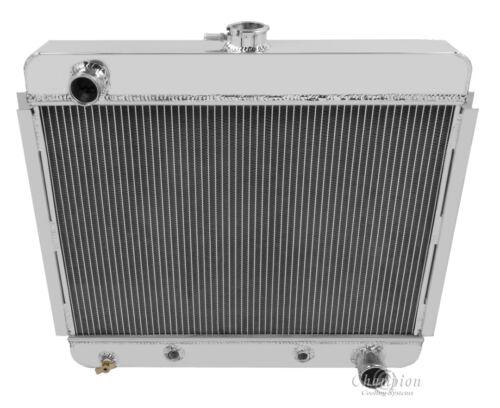 1970-1979 Dodge Truck//1949-1954 Chevy Cars Aluminum 3 Row KR Champion Radiator