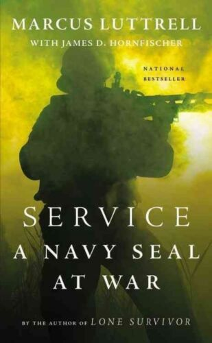 1 of 1 - Service: A Navy Seal at War, Luttrell, Marcus, Very Good Book