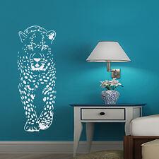 Cheetah Wall Decals Animal Art Leopard Decor Vinyl Sticker Home Decoration EG64