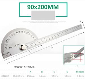 Winkelmesser Gradmesser Winkel Lineal für Bauarbeiter Handwerker Holzarbeiten