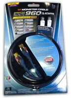 Monster Cable 960 Ultra High Speed Hdmi 3 Ft - 15.8 Gbps - Free Ethernet Cable