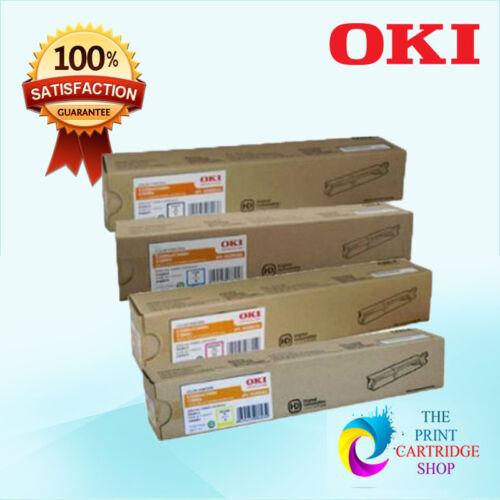 New Original OKI 43459312 43459353 43459354 43459355 Full Toner Set CMYK C3300N