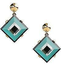 BNWT - Marc by Marc Jacobs - Stacking the Deck Drop Earrings - Turquoise