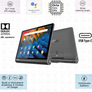 Lenovo Yoga Smart Tab 64GB, Octa Core CPU, AC Wi-Fi, BT FHD 10.1 inch IPS Tablet