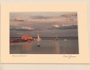New-Tom-Johnson-Signed-5x7-Photo-Matted-Autograph-Provincetown-Art-Photography