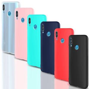 Dettagli su COVER Custodia Morbida SOFT Slim GEL Silicone per Huawei P20 Lite