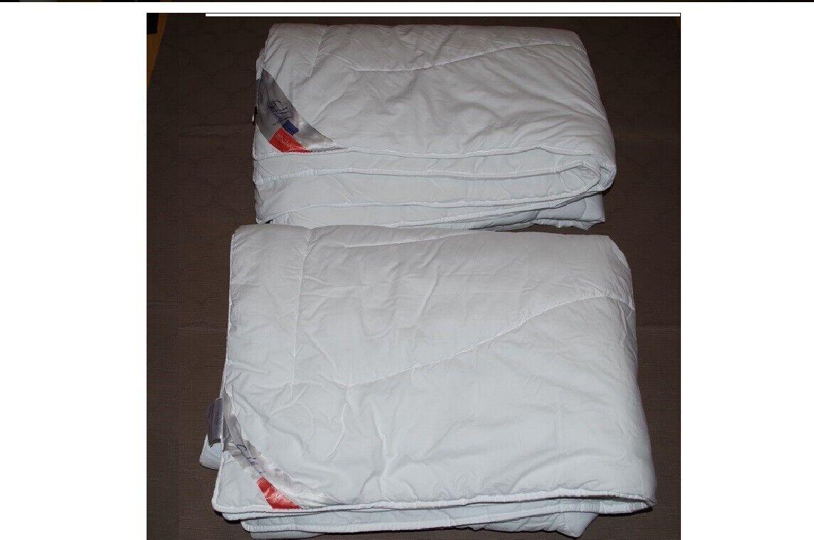 2 St. - zwei Schlafstil Decken - ROSANA - neuwertig - 135 x 200 cm - Bettdecke