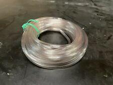 Clear Crush Resitant Plastic Tubing 20 Roll 316 Id X 14 Od Flexible