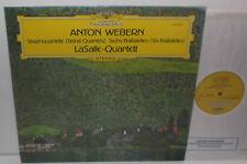 2530 284 Webern String Quartets Five Movements Six Bagatelles LaSalle Quartet